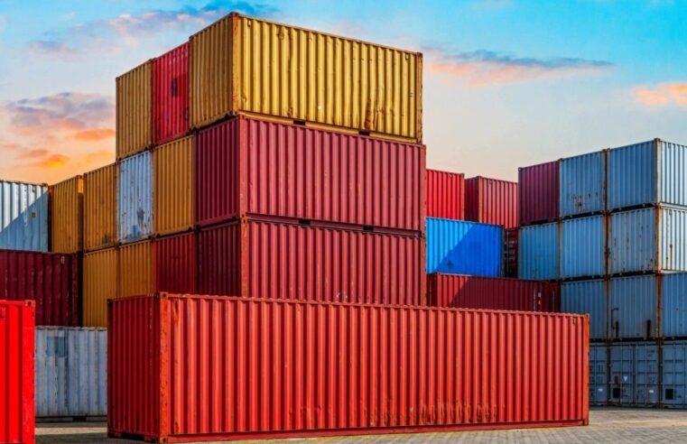 The most common types of shipping containers are being used
